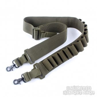 Shotgun Sling with 15rd Shell Pouch