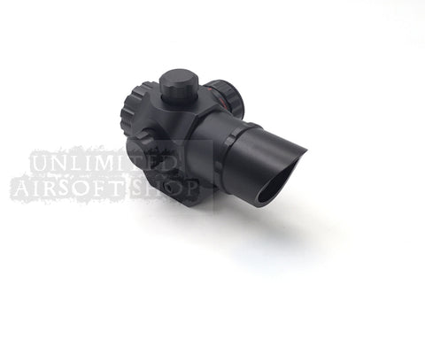 Airsoft 22C Red/Green Dot Scope Black
