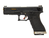 WE G18C T1 GBB pistol - Black