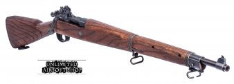 G&G Springfield 1903 A3 Co2 Rifle with Real Wood Furniture