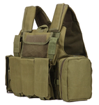 Army Fans Tactical Vest - OD Green