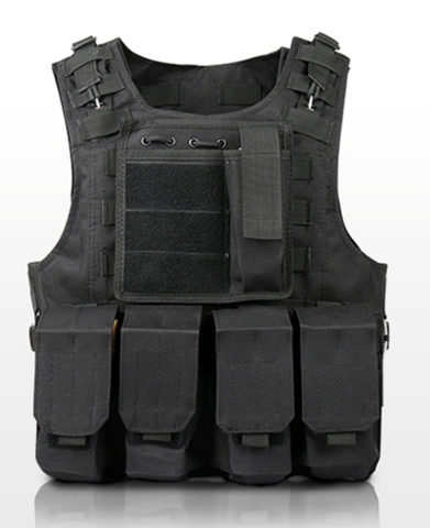 Special Soldier Tactical Vest - Black