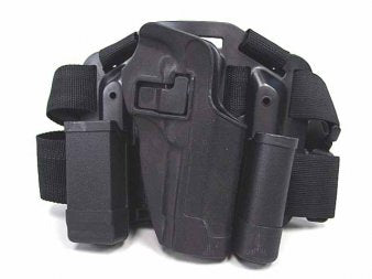 CQC Holster Set w/Platform & Magazine Pouch for M92 Black