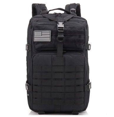 Tactical Backpacks Military 900D Waterproof Outdoor Sport -BLACK