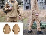 Softshell Waterproof Jacket Tactical Military Waterproof Jacket - OD GREEN