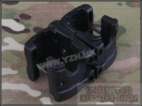 TB-FMA MP7 Double Magazine Clip - Black