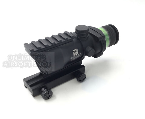 Airsoft red dot sight 4X32 scope balck Green