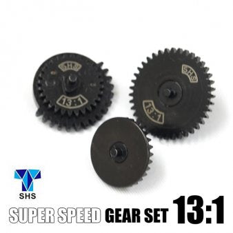 SHS 13:1 Super High Speed Flat Gear Set