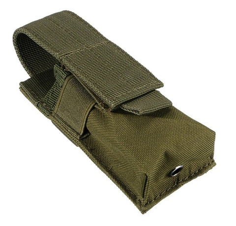 Military Tactical Single Pistol Magazine Pouch-OD green