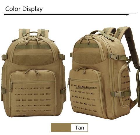 Outdoor Tactical Backpacks - Tan