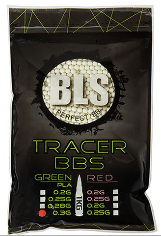BLS 0.30g Tracer BIO BBs (3400rds) (Green)