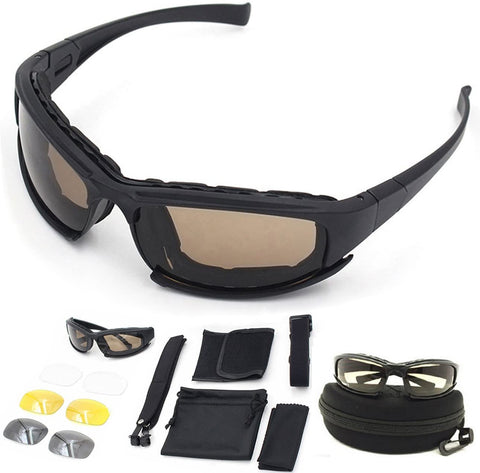 Daisy X7 style airsoft safty goggles glasses