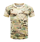 Tactical Camo T-shirt Men Quick Dry - Multicam