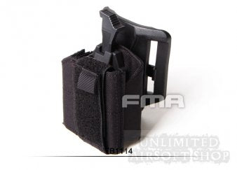FMA TB1115 Universal Holster For Tactical Belt - Black