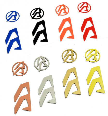 Double Alpha ALPHA-X HOLSTER LOGO COLOR INLAYS (LH)