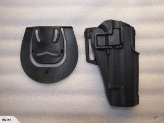 Airsoft Holster with Beltloop for 1911 Black