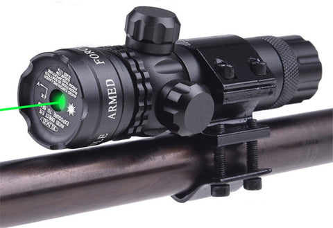 Airsoft Green Laser fit 20mm rail