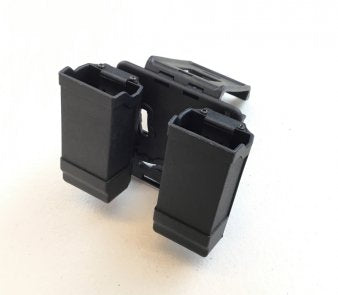 Airsoft tactical double pistol mag pouch holster