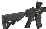 "APS ASR-117 ""Boar Tactical"" Silver Edge 17"" KeyMod Airsoft AEG"