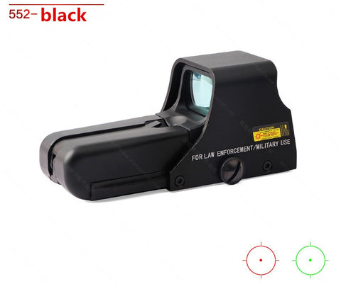 Airsoft 552 holographic sight - Black