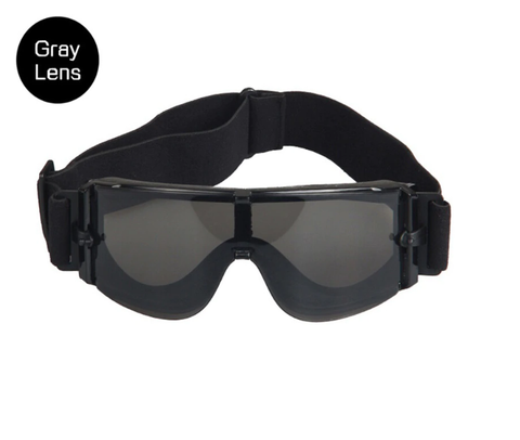 Airsoft X800 goggles with Grey Lens