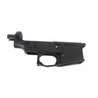 ICS UK1 HOG EBB Metal Lower Receiver Black