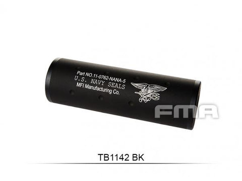 "FMA  ""Navy""+ -14mm Silencer 107MM BK"