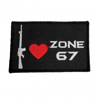 ZONE 67 Velcro Patch