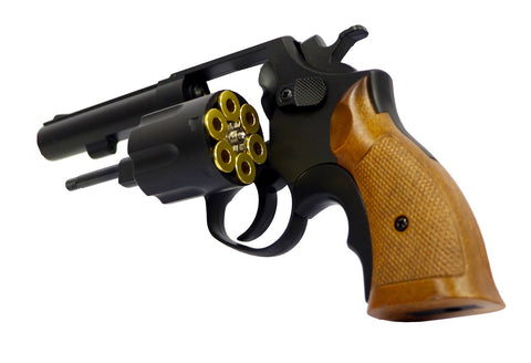 HFC Revolver green gas Non blowback - Black