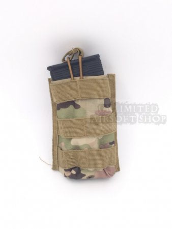 Military Molle Open Top Single M4 Magazine Pouch