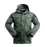 WINDPROOF CAMO JACKET TACTICAL JACKET - Green