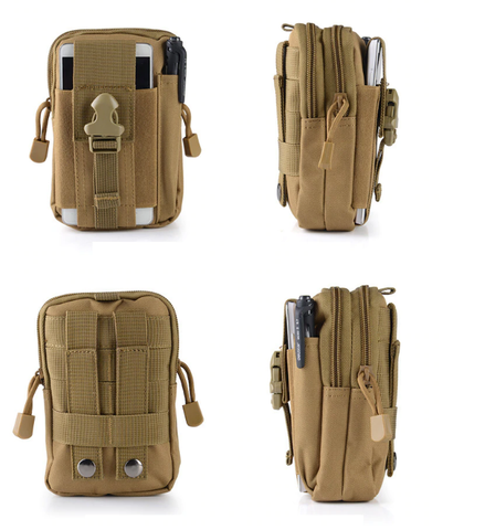 Tactical Molle Pouch Pocket size - Tan
