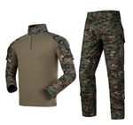 Outdoor Army Camouflage Suit - Digi Woodland