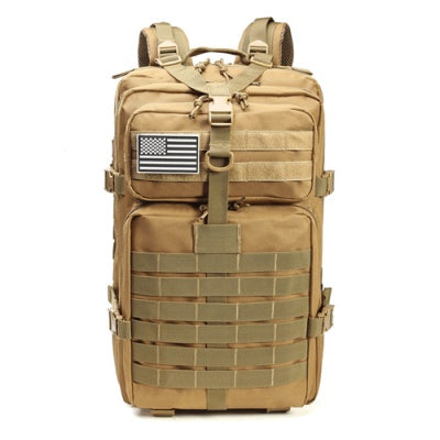 Tactical Backpacks Military 900D Waterproof Outdoor Sport - Tan