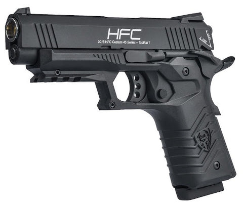 HFC airsoft gas blowback 1911 metal - Black