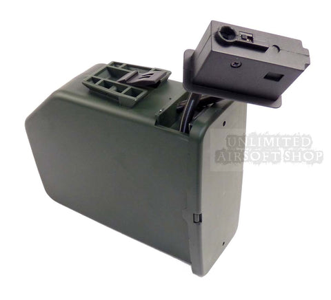 A&K M249 2500rds Sound Controlled Ammo Box