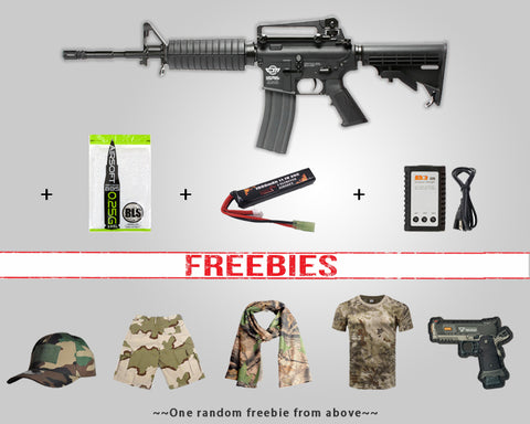 Start Package - G&G CM16 CARBINE - BLACK