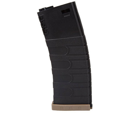 G&G 120rd GR16 Mid-Cap Mag for M4/M16 AEG (Black/Tan)