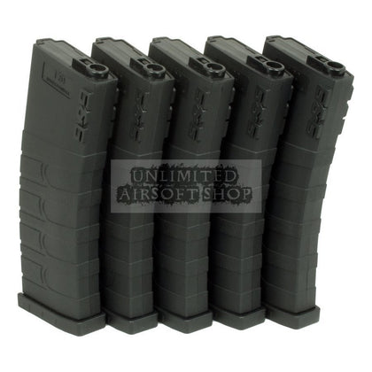 G&G 120R Mid-Cap Mag for M4/M16 (Black) 5pcs