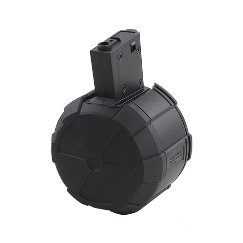 ICS M4 drum mag 1800 BBs Black