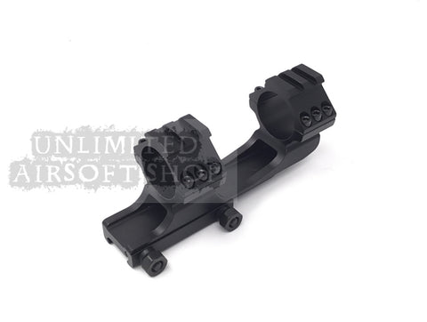 30mm Scope mount with Rail (2 in 1)