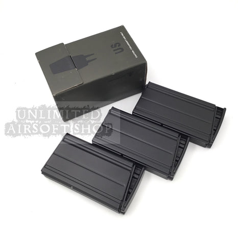 VFC SCAR H 160 Rounds Mid Cap Magazine 3pcs set Black