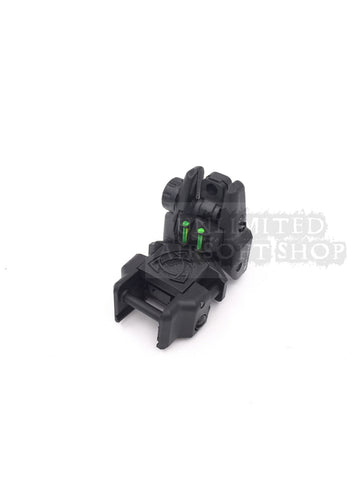 APS Rhino Rear Sight with Fiber Optic
