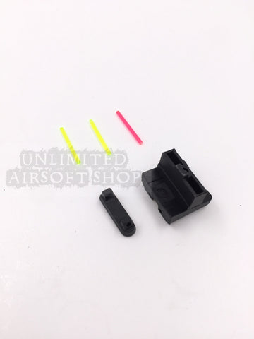APS Fiber Optic Sight Set