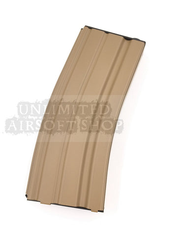 WE M4 Ultra Hi-Cap Magazine - Tan(300 Rounds)
