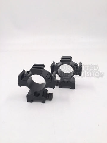 BD 30mm Scope Mount with Rail System (Pair)