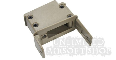 ICS Drum Mag G36 Connector (Tan)