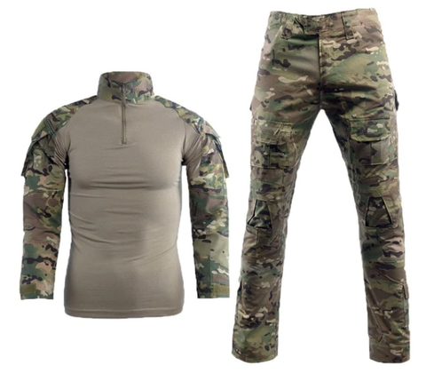 Outdoor Army Camouflage Suit - Multicam