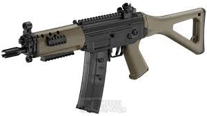 ICS Full Metal Sig 551 Tan