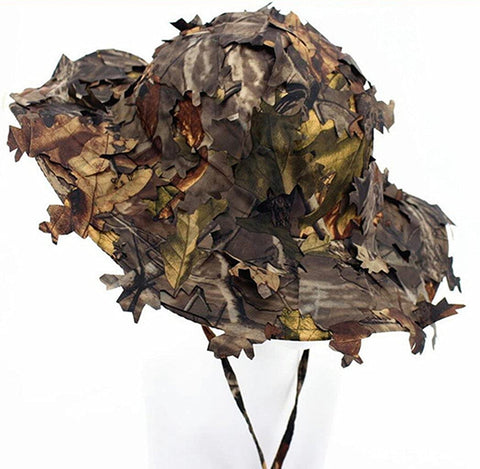 CAMOUFLAGE TACTICAL CAPS SNIPER GHILLIE Boonie